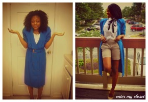 dress:Grandmas; Shorts:old navy tie:ribbon; shoes:CL