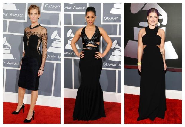 Faith Hill, Alicia Keys, Kelly Osbourne